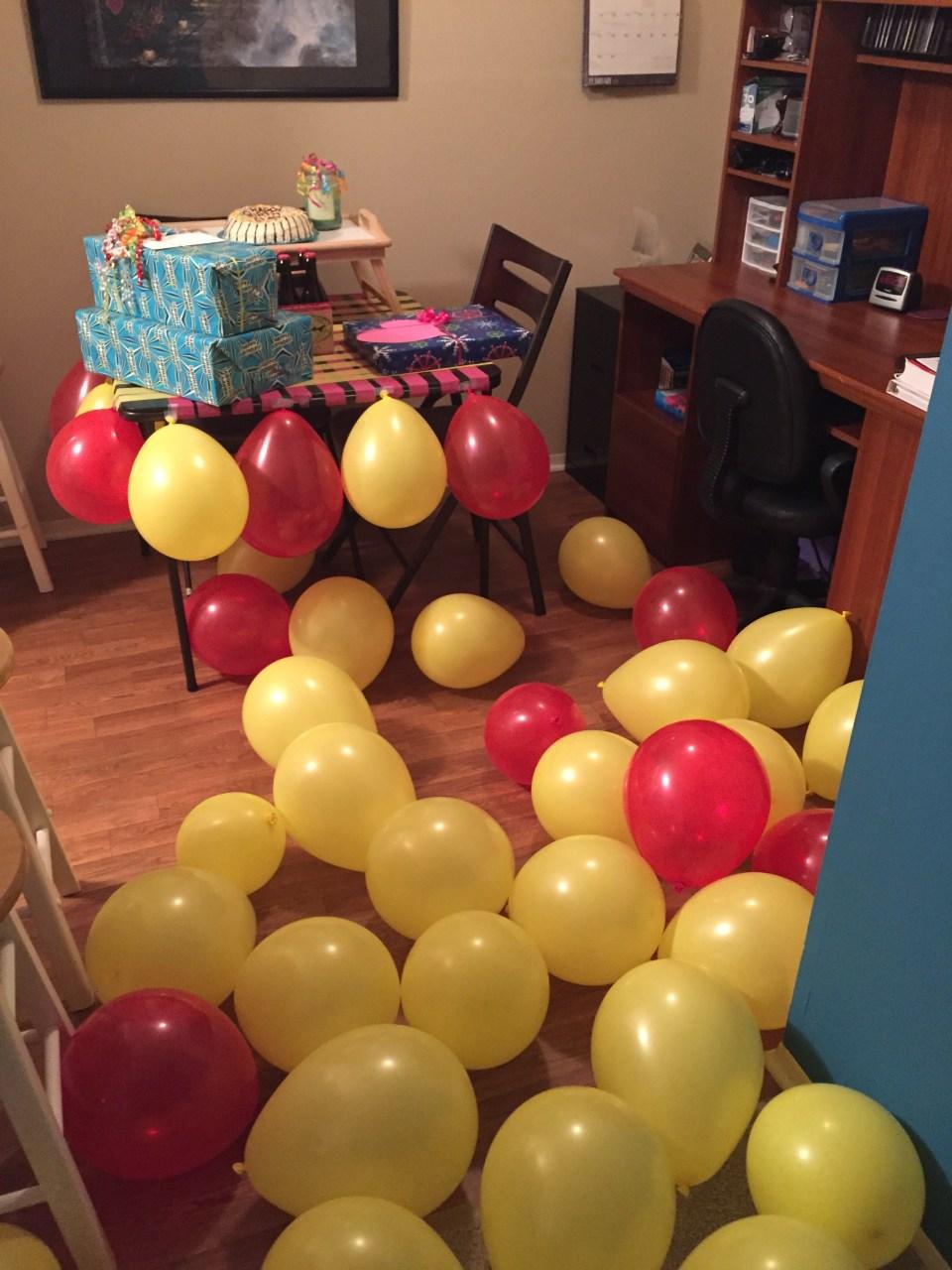 Birthday Shenanigans