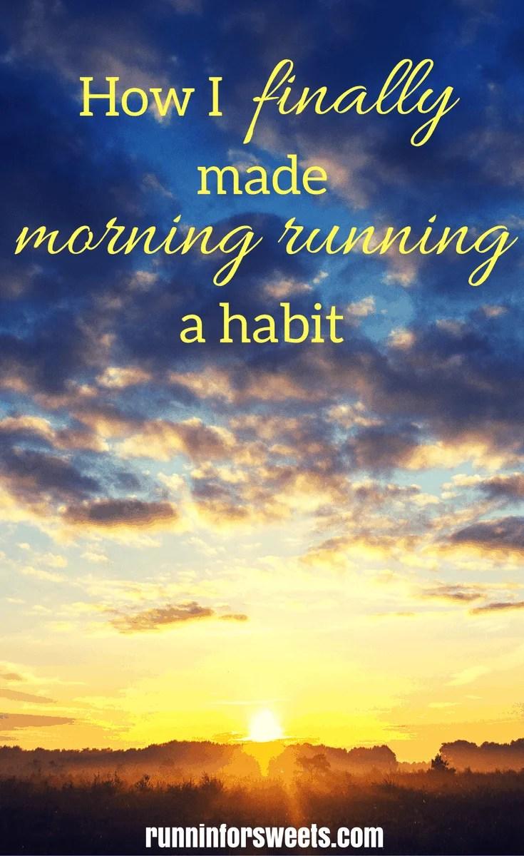 Early Morning Running Habit