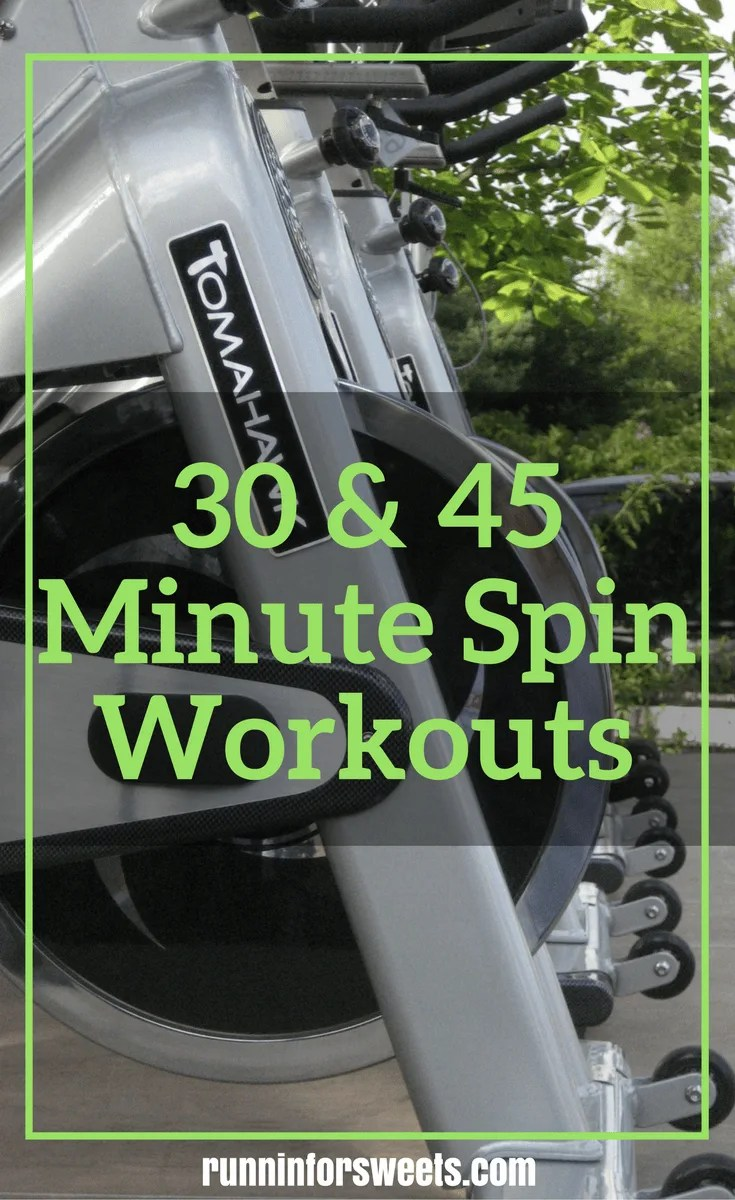 30 & 45 Minute Spin Workouts