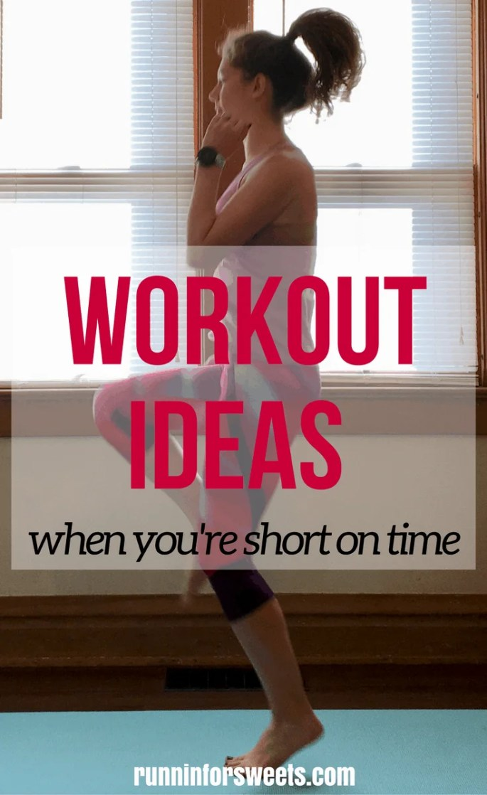 Workout Ideas for a Time Crunch