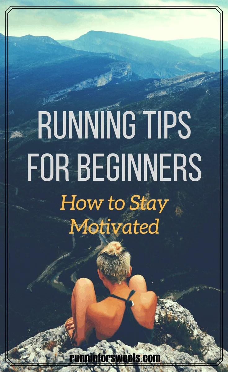 Running tips for beginners; how to stay motivated. Getting started doesn't mean that the journey is going to be easy. Whether you find yourself lacking motivation or unsure if you can stick with it - check out these awesome running tips to keep you going.