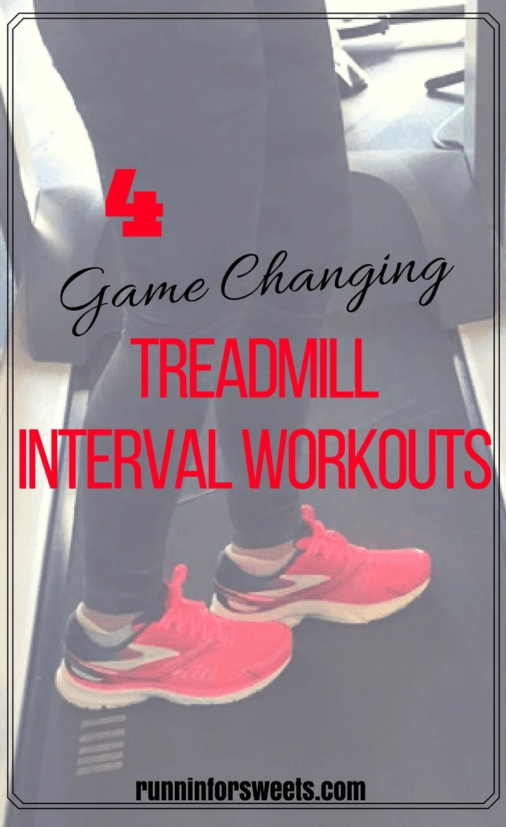 The game changing treadmill interval workouts that helped me increase my speed by nearly two minutes per mile. These treadmill running tips for interval training are perfect for beginners, or runners stuck in a rut. Revitalize your running routine with these simple workouts!