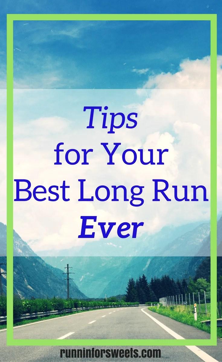 Tips for Your Marathon Long Run