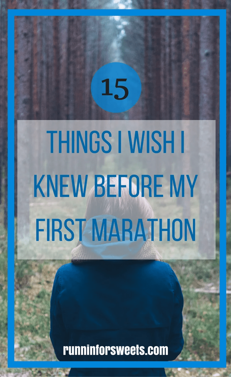 15 Things to Know Before First Marathon