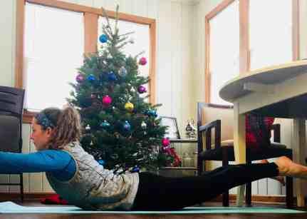 Christmas Workout Supermans