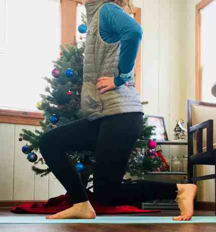 Christmas Workout Lunges