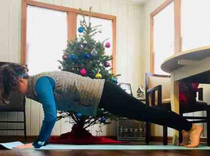 Christmas Workout Pushups