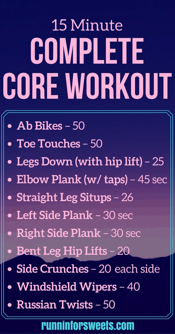 15 Minute Abs Workout forecast