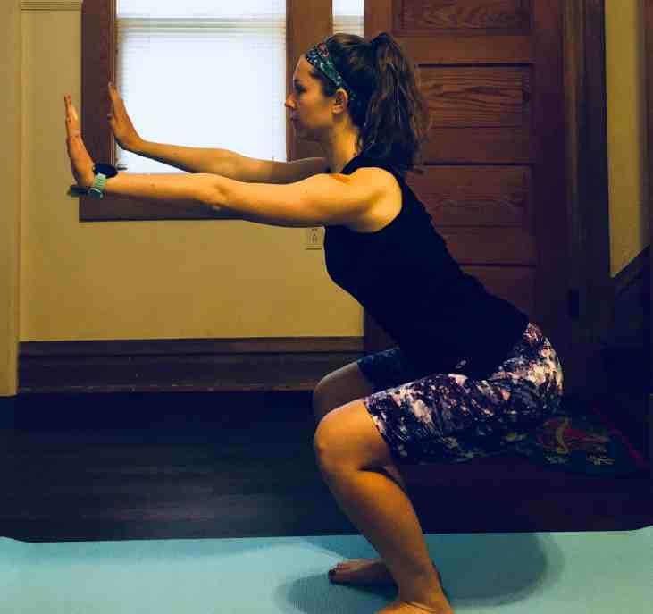 Leg Workout Squats