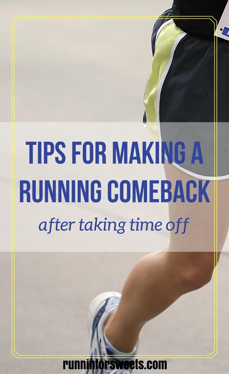 Make a Running Comeback