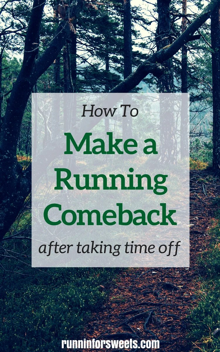 Make a Running Comeback