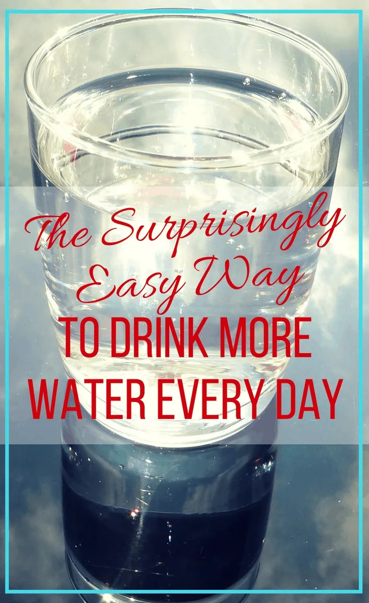 The surprisingly easy way to drink more water every day. Increasing my water intake has greatly improved my health, mood, and immune system.