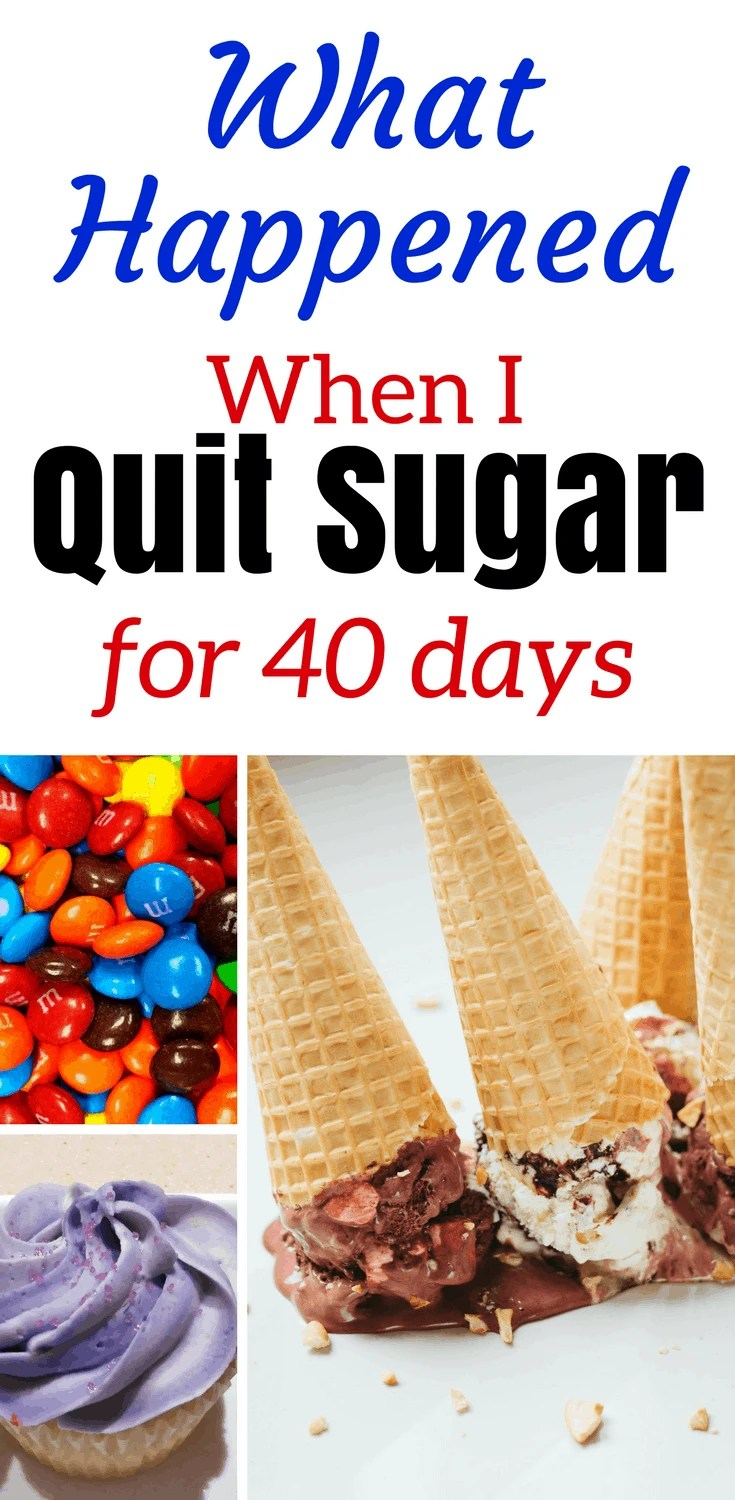 What Happened When I Quit Sugar for 40 Days | The before and after results I noticed after my sugar detox were incredible. After living the sugar addiction life I finally quit sugar for good, and it all started when I decided to give up sugar for Lent for 40 days. Here's how I did it.