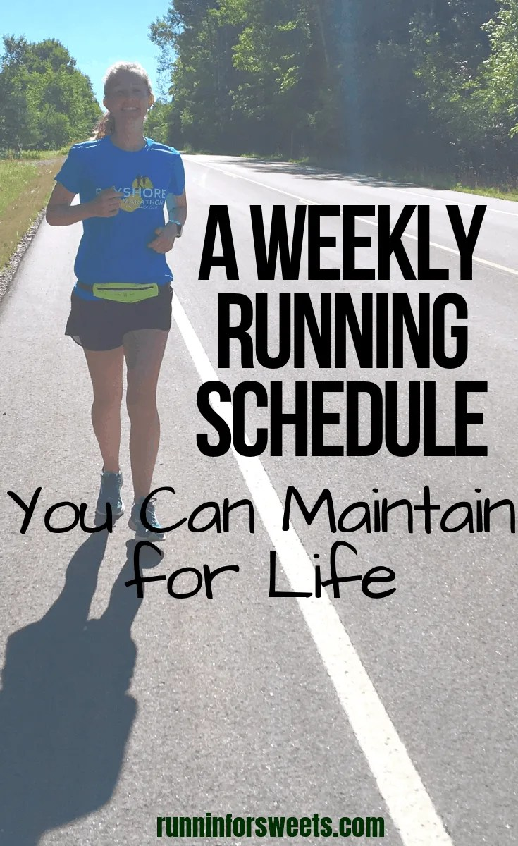 This running schedule has changed my life and better me a better runner. Since adopting this running schedule with lower mileage I have become a faster runner, increased my fitness, and changed my thoughts on running. Running has never felt better!