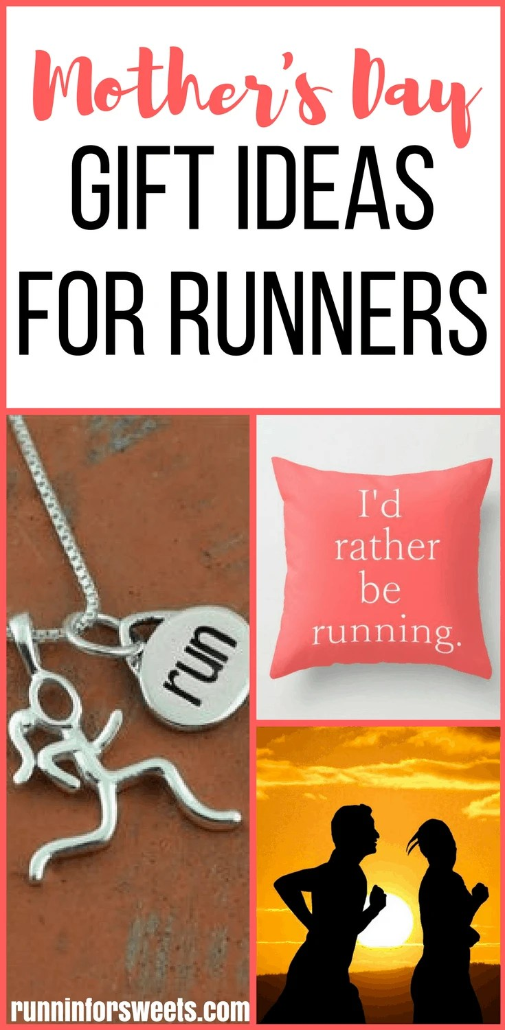 Your ultimate guide to mother's day gift ideas for runners! Have an awesome mother who is a runner? This gift guide for runners will help you find the perfect gift. Filled with unique gift ideas for women runners, these products are fun and perfect for any mom who loves running. Check out these fun gift ideas!