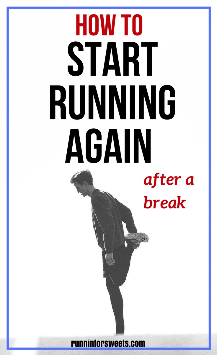 Have you taken a break from running recently? Maybe you're wanting to start running again after time an injury, pregnancy, illness or just low motivation. The truth is that most runners are forced to take some time off at some point in their life, but starting to run again after a break is often more challenging than you expect. Here are 7 ways to make a running comeback that feels easy and exciting, no matter how much time you took off from training.