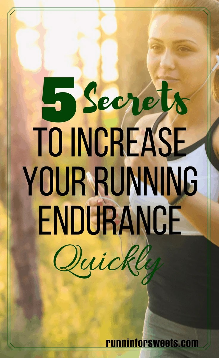 Are you training to increase your running stamina? There is nothing more discouraging than finding running motivation, but not being able to run as far as you'd like. These crucial tips will help you improve your running stamina and fitness during training without even realizing it. Here's how to increase your running distance in no time! #runningtips #runningendurance