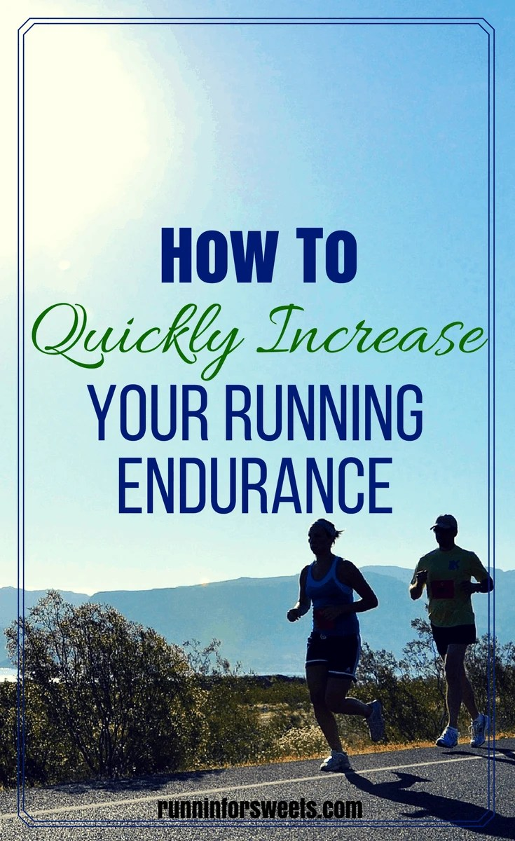 Whether you're training for a long distance race, or running to improve your fitness, increasing your running endurance is key to continued success as a runner. This tips will have you building running endurance quickly and easily! Improving your running stamina is easier than you think. #runningtips #runningendurance #longdistancerunning