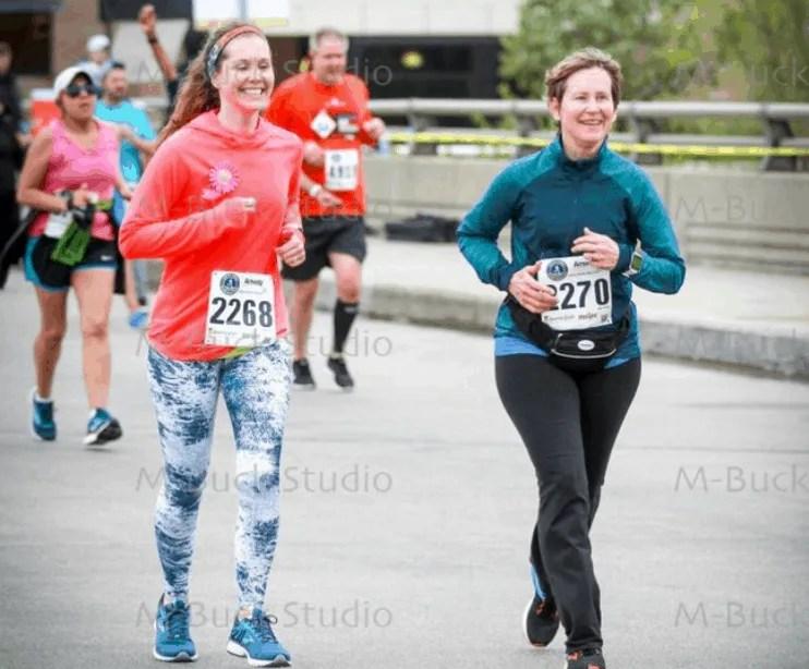 Bayshore Half Marathon Recap in Traverse City, Michigan