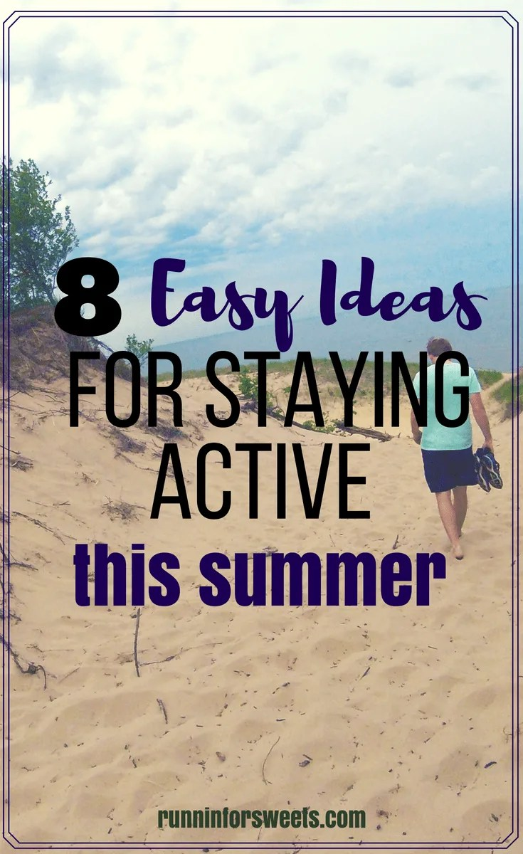 The fun outdoor summer fitness activities are sure to get you motivated to stay active this summer. Stay motivated and healthy by heading outdoors to find some summer fitness inspiration. Here are some unique ideas to stay fit this summer! #summeractivities #summerfitness