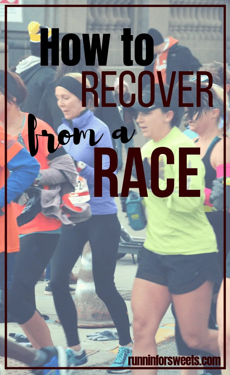 Recover from Marathon or Half