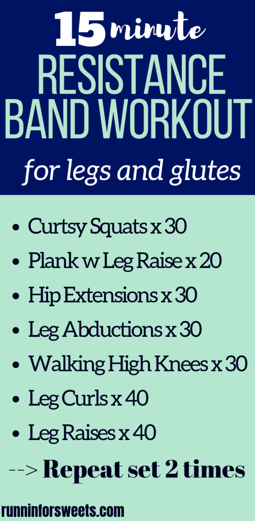This resistance band workout is a simple and easy way to gain maximum glute and length strength. Try these resistance band exercises at home for the ultimate addition to your strength training routine. Strengthen your lower body with these 7 loop band leg exercises. #resistanceband #resistancebandexercises #resistancebandworkout #loopbandworkout
