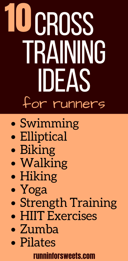 Here is everything you need to know about cross training for runners! What it is, what are the benefits, and how to fit it in. Plus, here are 10 epic cross training workout ideas for beginners to advanced. Try them out right at home to easily add them to your training schedule. #crosstraining #crosstrainingworkouts #crosstrainingforrunners