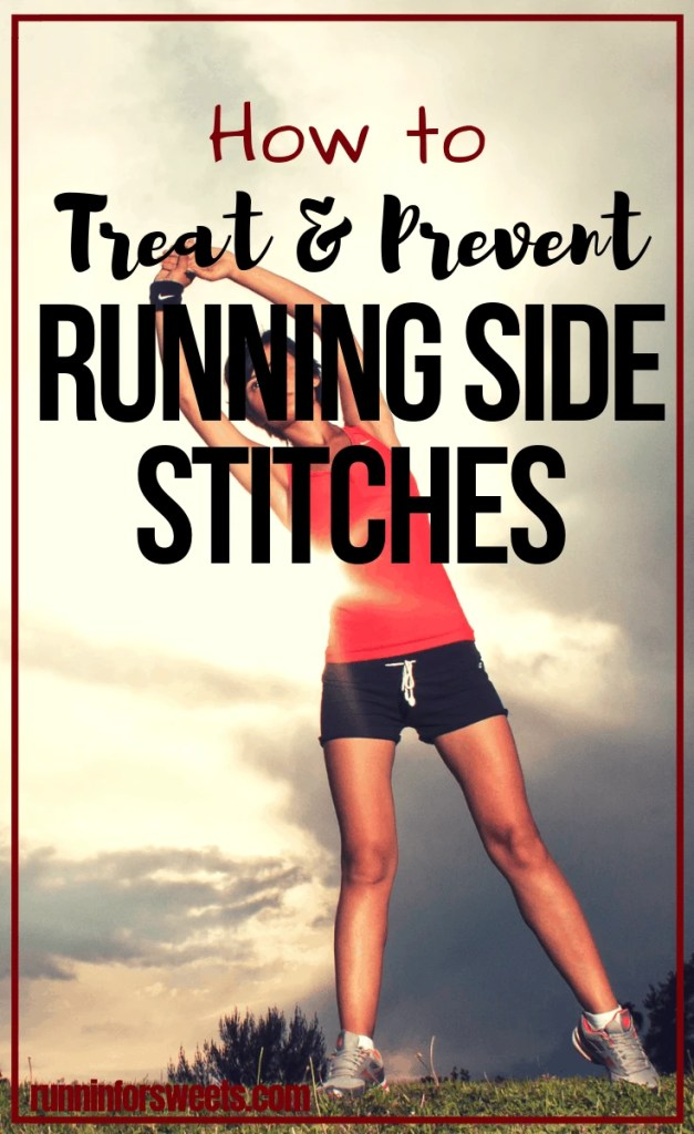 Just about every runner has dealt with side cramps on the run. Here are 3 genius tips to get rid of side stitch pain while running and prevent side stitches from occurring altogether. Learn the causes and what to do to ensure your run is cramp free. #runningcramps #sidestitches #runningsidestitch #sidecramps
