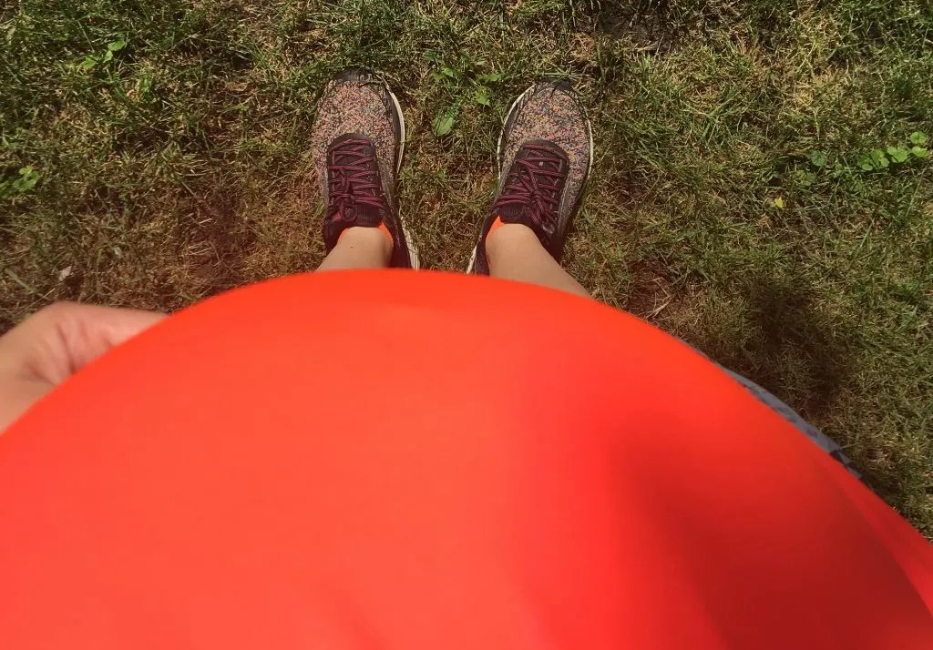 Running while pregnant often brings questions, fears and uncertainties. Here are some tips for running during the first and second trimesters, what to expect from pregnant running and how to maintain a fit pregnancy (even when plans change). #pregnantrunning #fitpregnancy #runningwhilepregnant