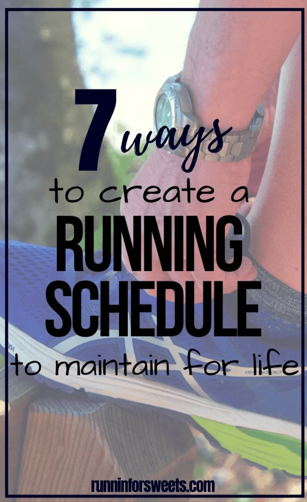 Learn exactly how to design a running schedule that you can maintain for life. Whether you are a beginner, intermediate or advanced runner, this running program will help you stay in shape while gaining speed and endurance. Build a training plan where you run everyday, weekly or mix up your workouts. #runningschedule #runningprogram #trainingplan