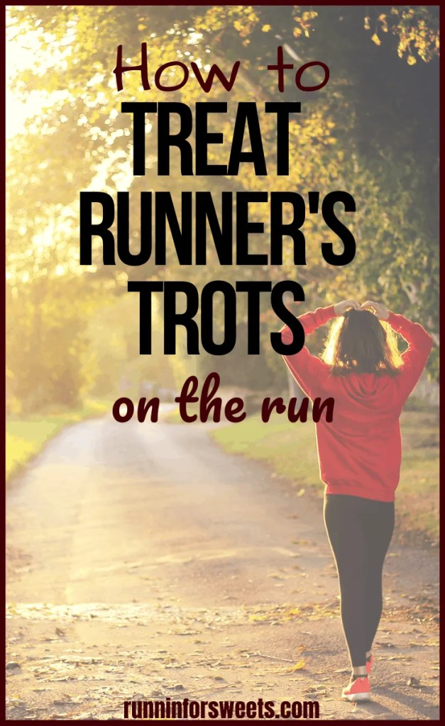 Preventing runner's trots is key for any long distance training or races. Runners are often plagued with stomach and digestive issues during long runs, especially when taking in food. Here are 8 ways to prevent runner's trots and treat stomach issues if they occur. #runnerstrots #runnersdiarrhea #longruntips