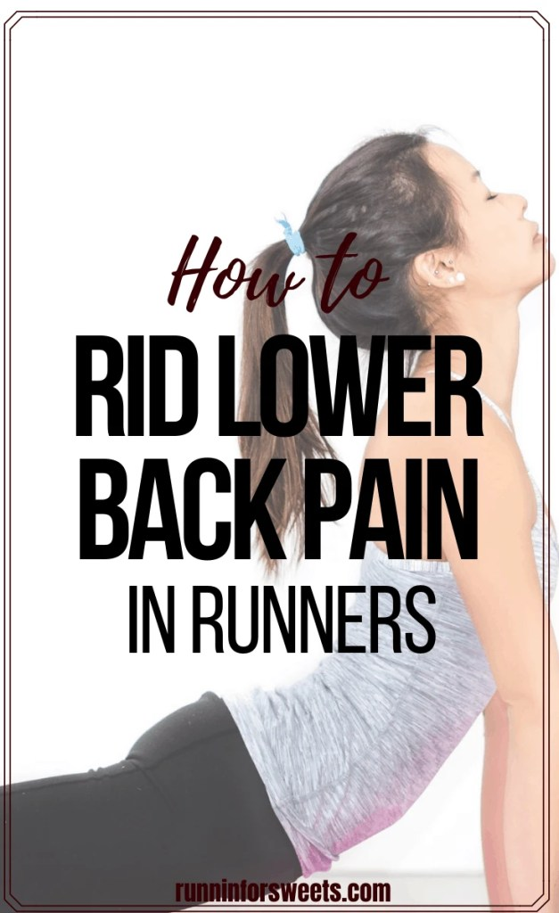 Lower back pain can be especially frustrating for runners. Here is how to relieve back pain and prevent it from occurring in the future. #lowerbackpain #backpain #runningpain