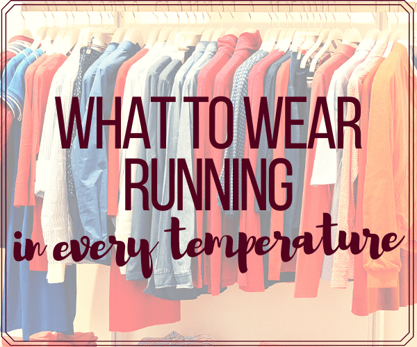 What to Wear Running in Every Temperature