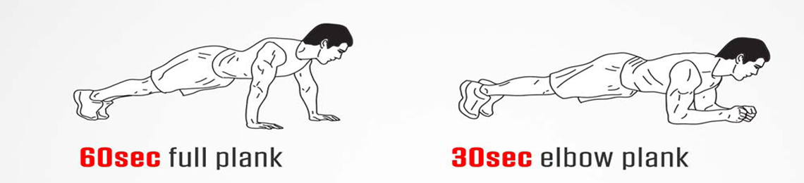 plank,runnning,workouts