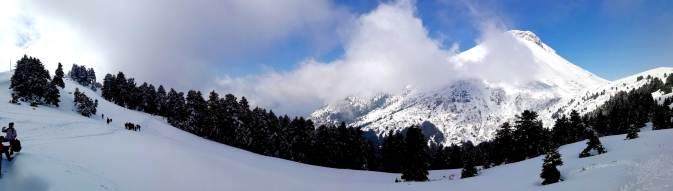 Η κορυφή της Δίρφυς στην Εύβοια χιονισμένη - Δίρφη - Βουνό - Πεζοπορία