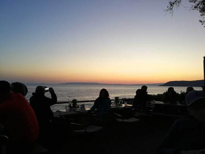 Ηλιοβασίλεμα στην Καρδαμύλη