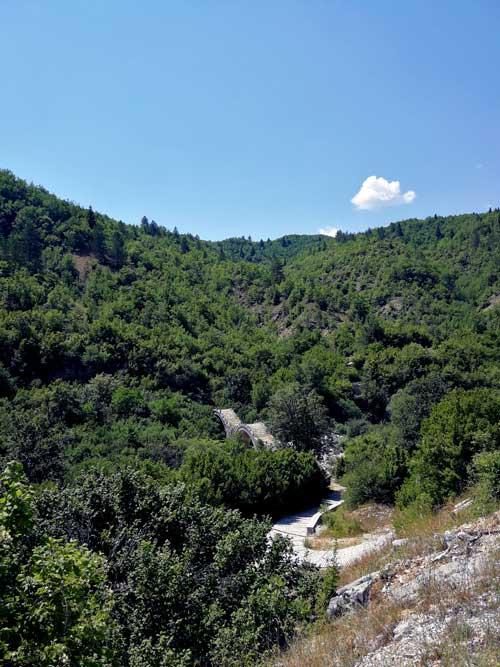 Τρίτοξο γεφύρι Ζαγόρι Αγώνας Βουνού - Κήποι - Zagori Mountain Running