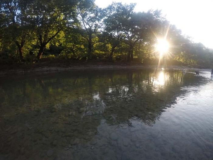 Περπάτημα στο ποτάμι του Εύηνου