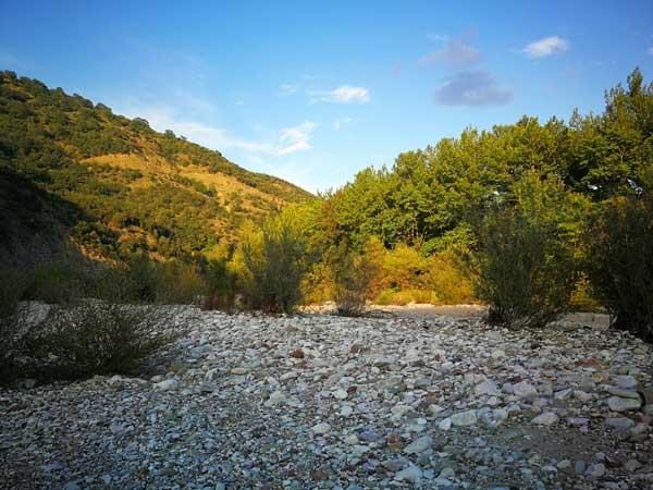 Κοίτη Εύηνου ποταμού