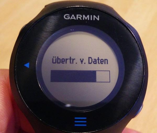 Garmin Forerunner (ANT+) mit Ubuntu auslesen