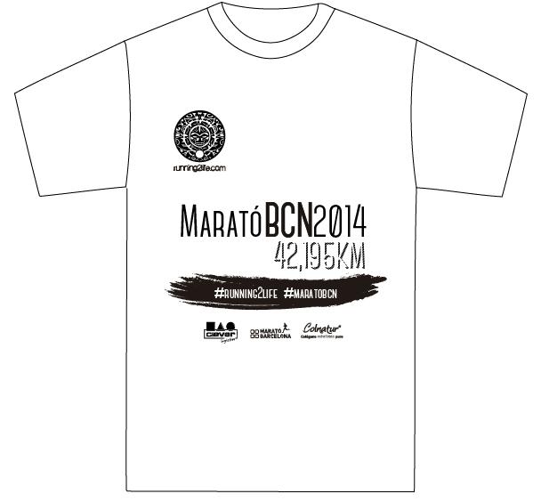 Camiseta Running2life Equipo