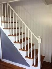 Small Spaces Narrow Staircase Challenge For Mattress Running A   Staircases For Tight Spaces   Farmhouse   Cool   10 Ft Ceiling   Ladder   Stylish