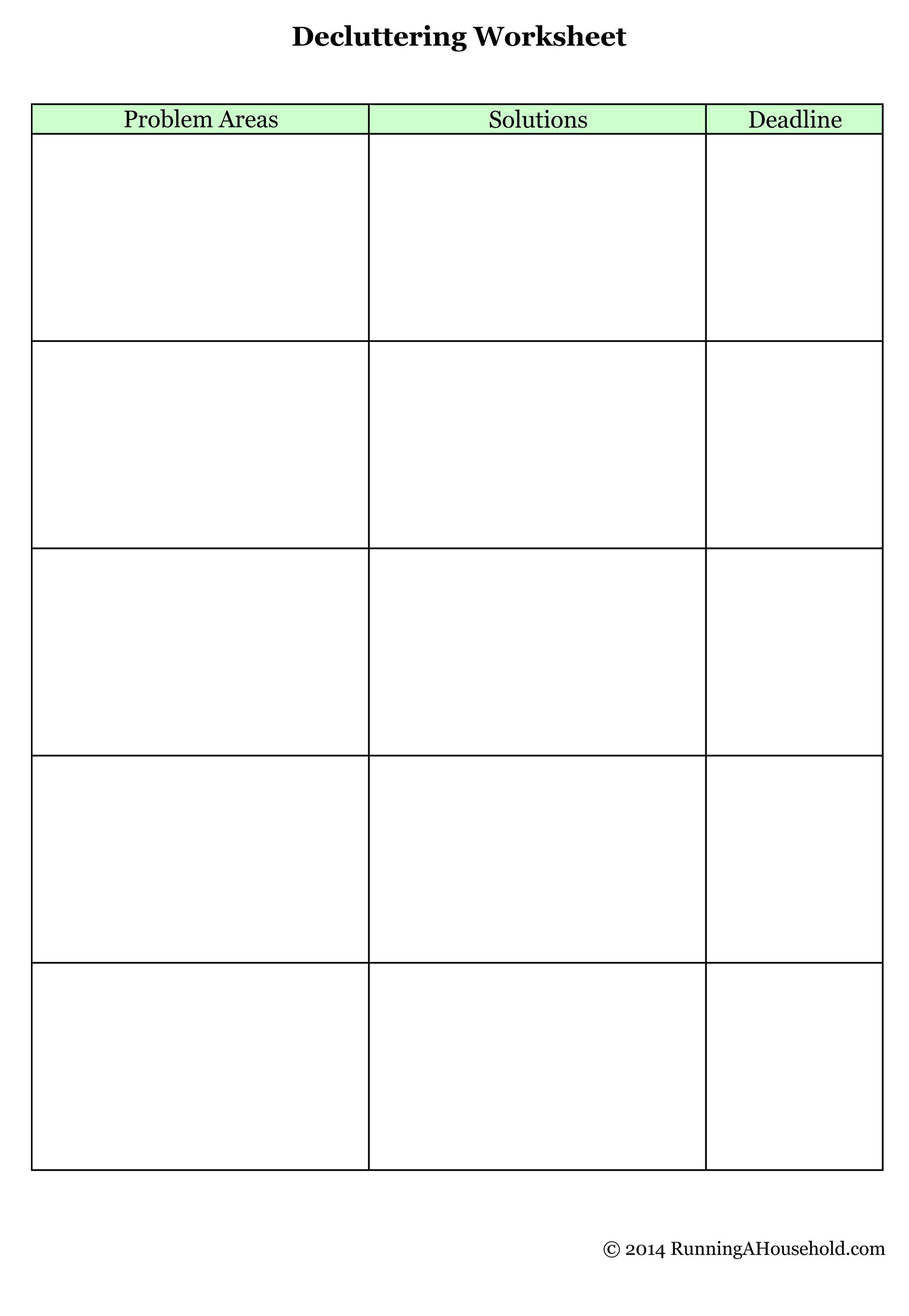 Motivation Group Worksheet