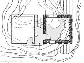 ground plan of studio