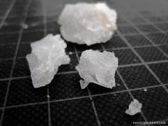 sample of salt crystals
