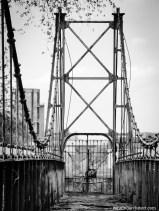 demolished bridge