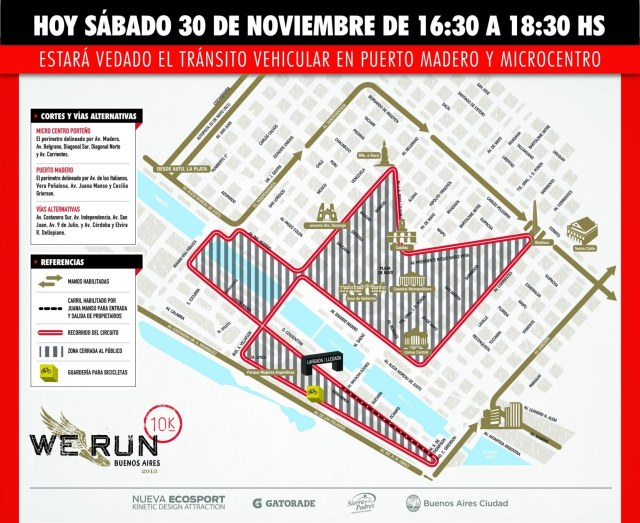 Corte de Calles - We Run 2013
