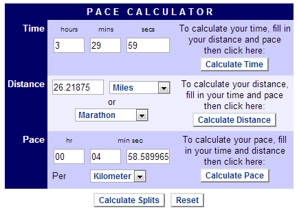 Pace calculator_2