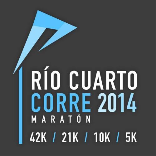 Maratón Río Cuarto Corre Logo