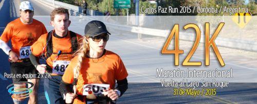 Maratón Carlos Paz Logo